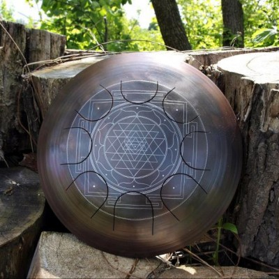 "GUDA drum freezbee ""Sriyantra"""