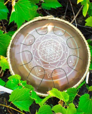 GUDA drum Freezbee Sriyantra