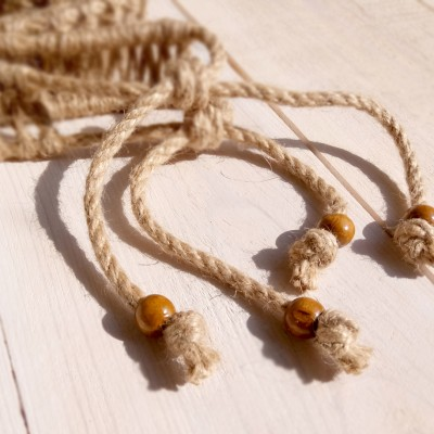 Hemp rope decoration for GUDA drum