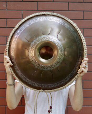 Unique Big Steel tongue Drum from Dmitrii Gubarev