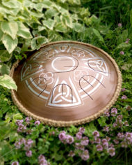 GUDA drum mini overtone Celtic Cross_001