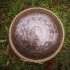 "GUDA drum Plus ""Flower of life with Hare Krishna mantra"" with rope decoration"