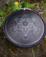 black guda gubarev drum mini overtone plus Metatron 05