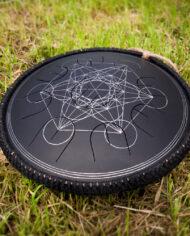 black guda gubarev drum mini overtone plus Metatron 06