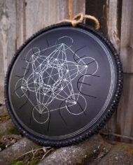 black guda gubarev drum mini overtone plus Metatron 10